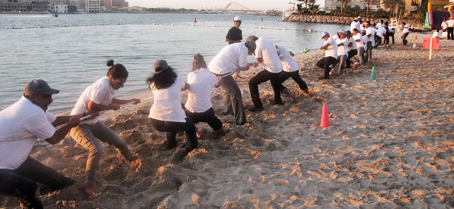 Inspire and unify your team with our motivating team building events